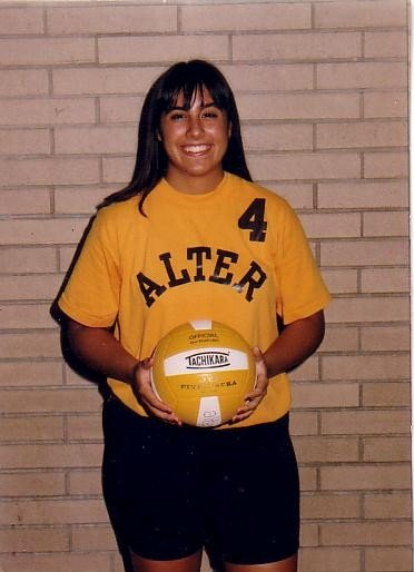 This is me my sophomore year in     high school in August of 1996. I was captain of my volleyball team.