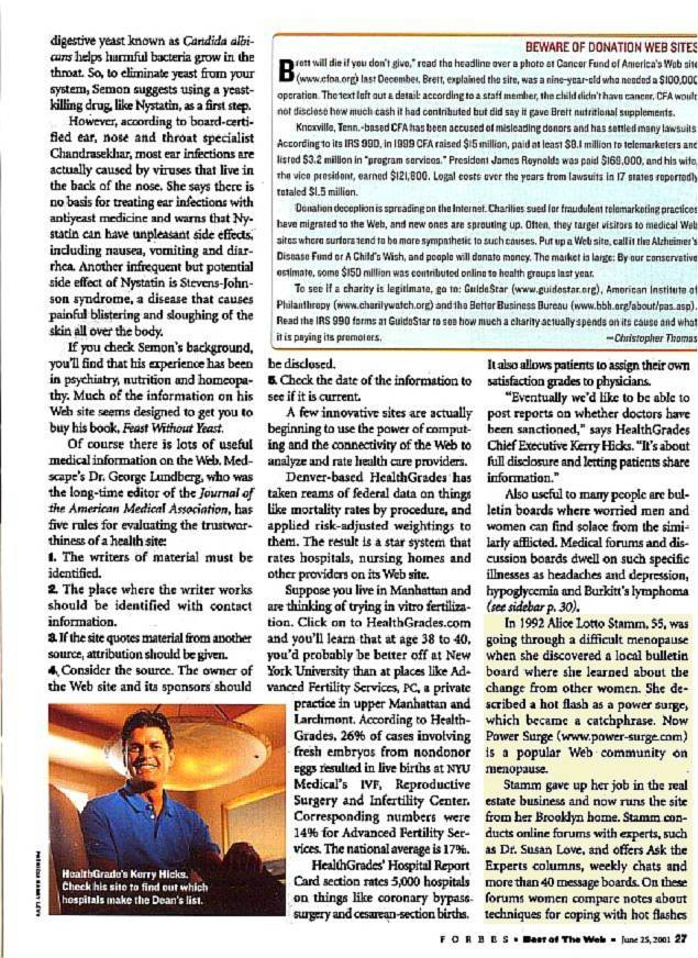 Forbes Article Page 1