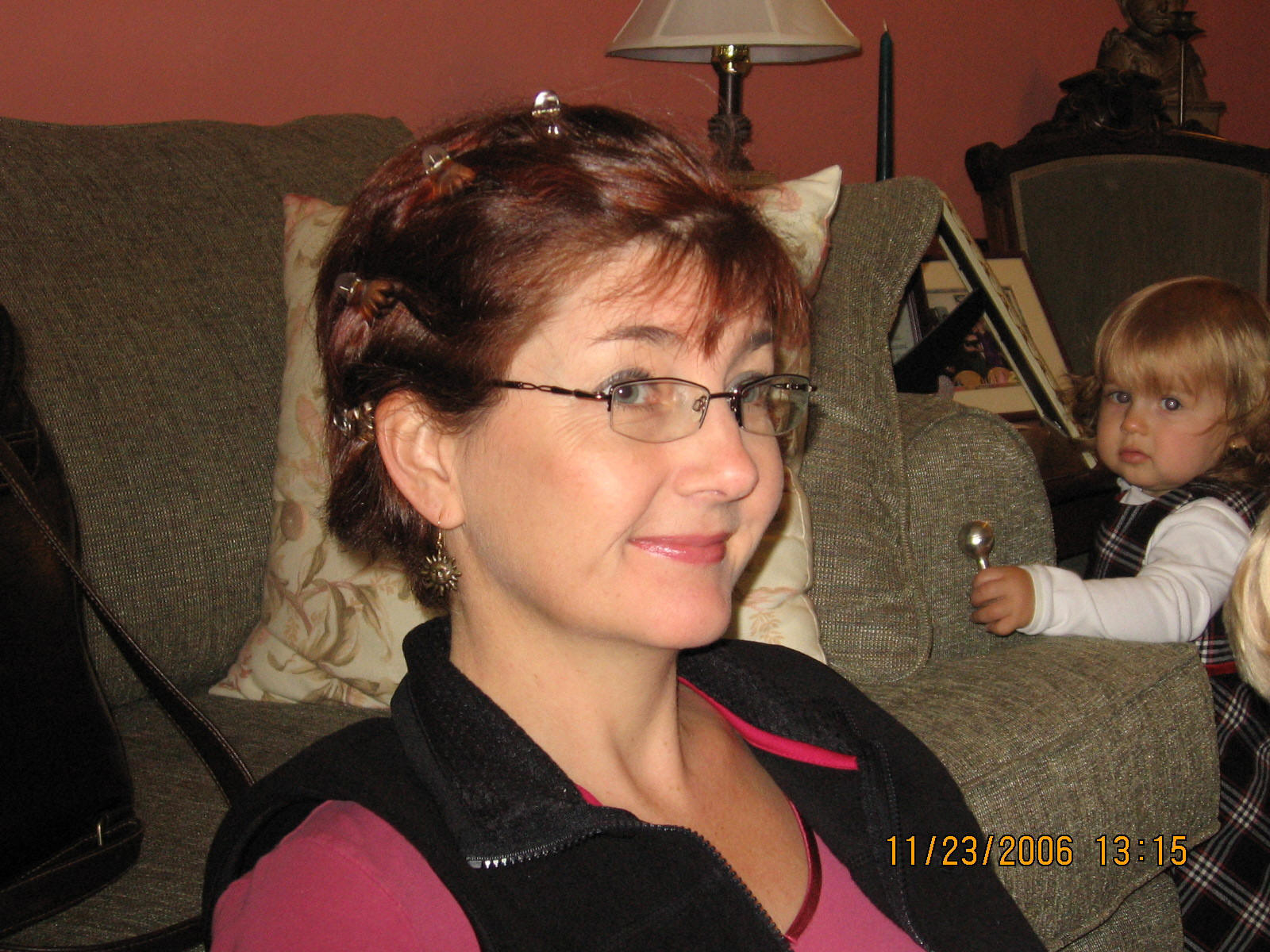 Thanksgiving 2006, 2 months after surgery